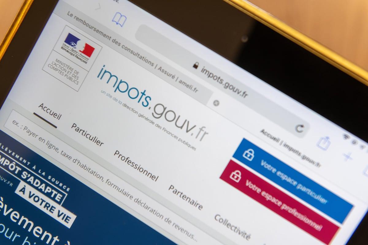 Le site impot.gouv.fr permet de déclarer ses impôts sur le revenu